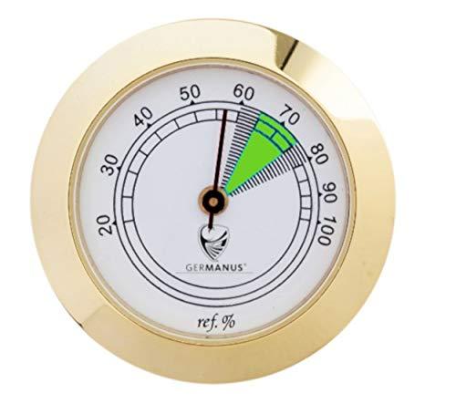 GERMANUS Hygrometer als Ersatz für Humidor 37 mm