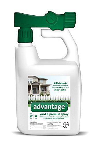 Advantage Flea and Tick Yard and Premise Spray, 32 oz