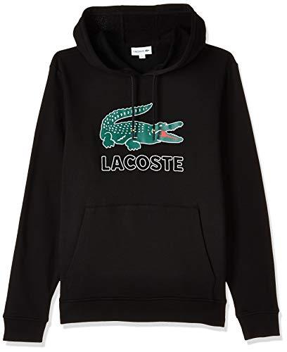 Lacoste Herren Sh6342 Sweatshirt, Schwarz (Noir 031), Medium (Herstellergröße: 4)