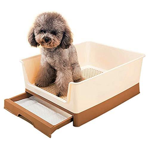 Inodoro de Entrenamiento para Perros, Inodoro Duradero para Mascotas Orinal para Mascotas Inodoro para Cachorros para Perros Masculinos Almohadilla de Entrenamiento para Orinar Inodoro para Gatos