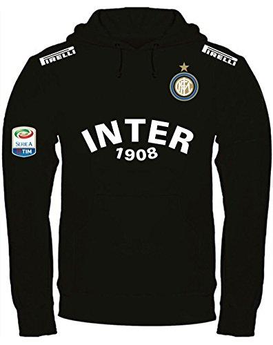 Print & Design Sweatshirt Inter Internazionale Kapuzenpullover personalisierte (XXL, Schwarz)