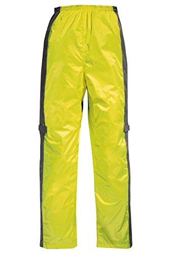 Difi FIJI Motorrad Regenhose Farbe signalgelb/grau, Größe XL
