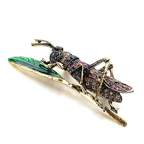 Animal abeja mariquita hormiga pájaro caracol broche insecto broche broche joyería banquete