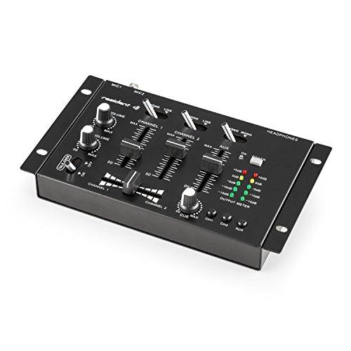 Auna TMX-2211 3/2-Kanal DJ Mixer Mischpult schwarz