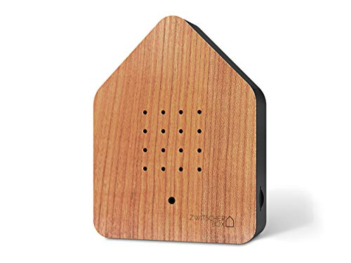 Zwitscherbox, Einheitsgröße, Kirsche, Kirschrot/Weiß, 11 x 12 x 3 cm
