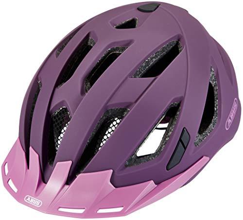 ABUS Unisex-Erwachsene URBAN-I 3.0 Fahrradhelm, Violett (core purple), M (52-58)