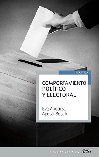 Comportamiento político y electoral (Ariel Ciencias Sociales)