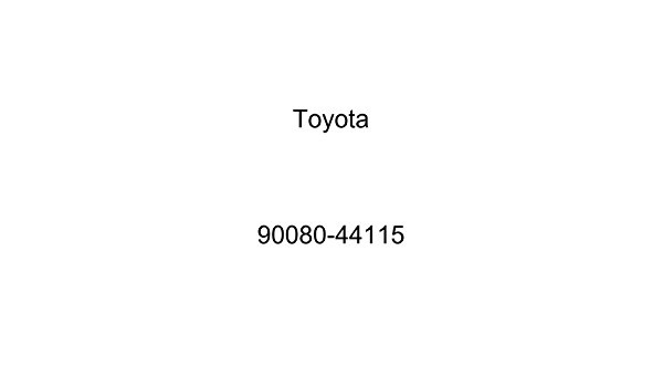 Toyota 90080-44115 Engine Coolant Recovery Tank Hose