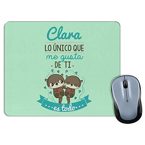 LolaPix Alfombrilla de ratón San Valentín Personalizada con Foto. Regalos Personalizados para Enamorados. San Valentín. Modelo Rectangular 18x22cm. Único