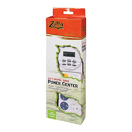 Zilla Reptile Habitat Lighting & Terrarium Heat Power Center