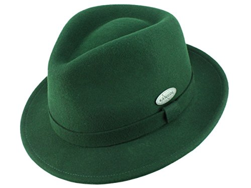 Kangol Homme Chapeau Trilby LiteFelt Hiro Trilby vert