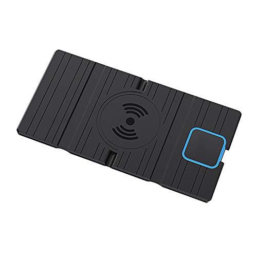 XHAJFNCO Little Rich Man 15W Silicone Wireless Car Carger Fast Carging Pad Mat Plegable Mat Fit para Huawei iPhone