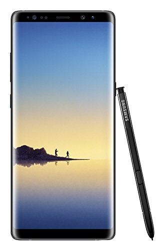 Smartphone Samsung Galaxy Note8 (écran tactile 6,3 pouces (16,05 cm), mémoire interne de 64 Go, Android 7.1) Midnight Black