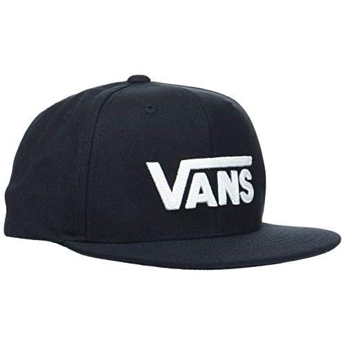 Vans Drop V II Snapback Cappellopello, Nero (Black-White Y28), Taglia Unica Bambino