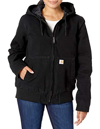 Carhartt . 104053.BLK.S005 Washed Duck Active Mujeres Chaquetas Negro, Talla M