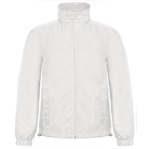B&C ID.601 - Veste Coupe-Vent - Homme (XL) (Blanc)