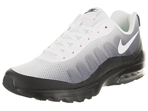 Nike Herren Air Max Invigor Print Laufschuhe, Mehrfarbig (BLACK/WHITE-COOL GREY), 44 EU