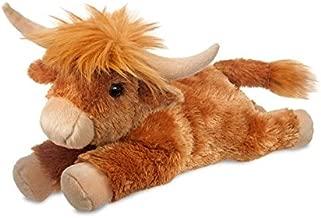 Aurora Gifts of Smiles (Flopsie) - HIGHLAND COW - Soft Toy/Plush- 30cm