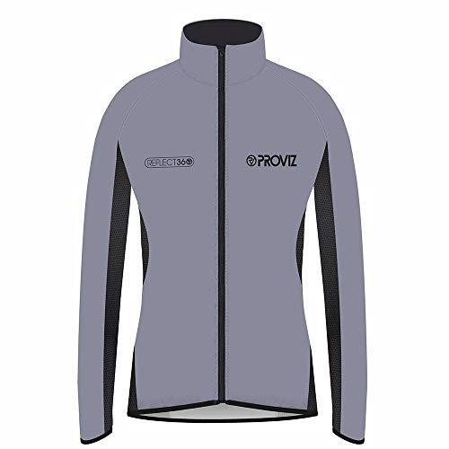 Proviz Womens Reflect360 100 Reflective Windproof Performance Cycling Jacket