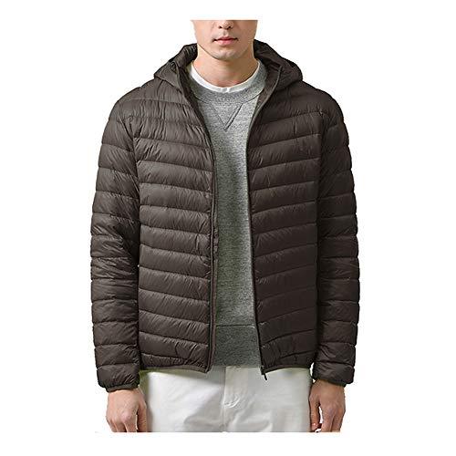 Down jacket Chaqueta de Plumas Mens Puffer Coat Plegable Oversized pake en...