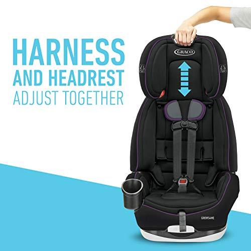 Graco Grows4Me 4 in 1 Car Seat, Infant to Toddler Car Seat with 4 Modes, Vega