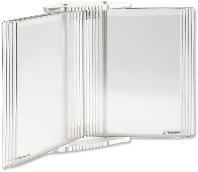 Tarifold TAB436100 Crystal Line Tischsichttafelsystem Hochformat Querformat Querformat Querformat 10 Sichttafeln A4 transparent B001P45GTU   Großartig  a95a7a