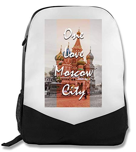 One Moscow | Series | Popular Words | Osom Quotes | Cool T Shirt | Nice to | Super | Beautiful Landscape | Yolo Swag Rucksack