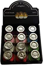 Scented candles in a bottle - Many Colores distinctive perfume, 12 pieces - handmade