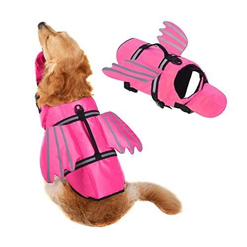 Sucastle Chalecos salvavidas para perros Chalecos salvavidas para perros para nadar, navegar en la playa con alta flotabilidad Chalecos salvavidas para cachorros para perros pequeños, medianos y grand