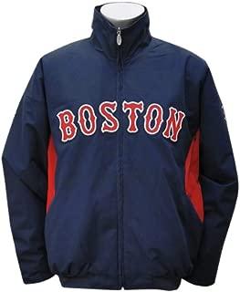 Boston Red Sox 5X-Large 5XL Majestic Navy Therma Base Premier Dugout Jacket XXXXXL