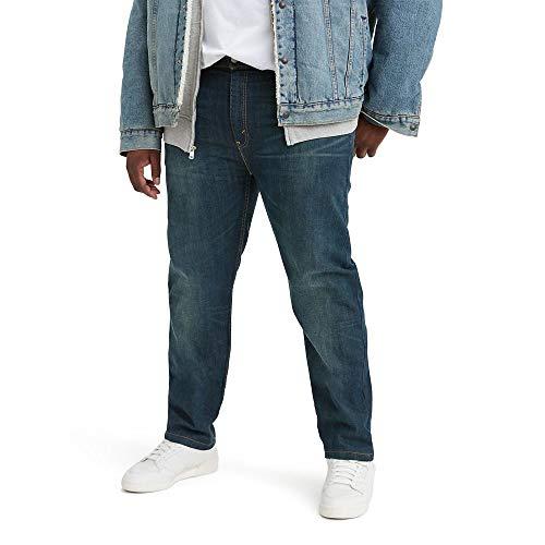 Levi's Big & Tall 502 - Pantalones vaqueros para hombre - Azul - 54W x 29L