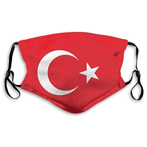 Flagge der Türkei Herren und Frauen 'S Filter verstellbare Masken