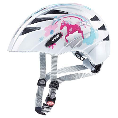 Uvex Unisex Jugend, kid 1 Fahrradhelm, unicorn, 47-52 cm