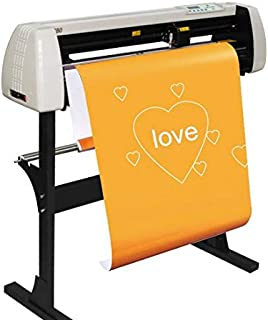 28 Inch Plotter Machine 720mm Paper Feed Vinyl Cutter Plotter Sign Cutting Plotter Machine with Stand US Shipping 2-5 Days Delivery