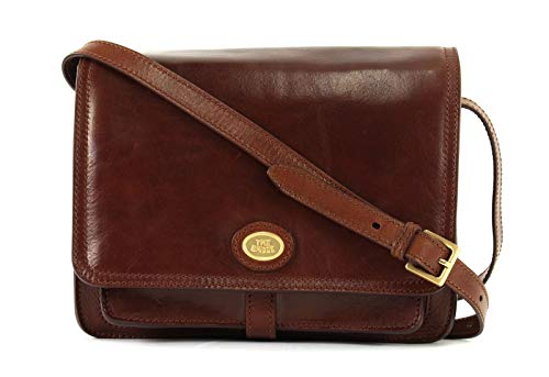 The Bridge Borsa Messenger 04418201-14 Marrone