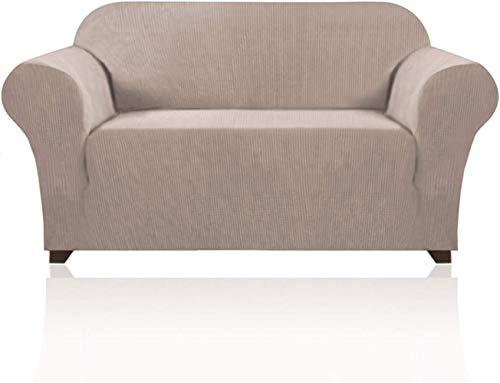 Mazu Home - Juego de sofá elástico (1 pieza, 3 alfombrillas suaves, accesorios para sofá)