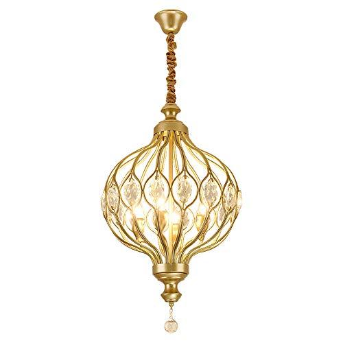 Moderne kristallen kroonluchter verlichting voor Keuken Slaapkamer Art Deco Led Kroonluchter Plafond Verlaagde Lampen Enkele Hoofd Gouden