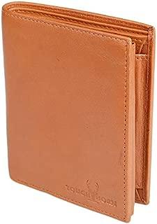 TOUGH HORN Men's Leather Wallet_THTAN00302