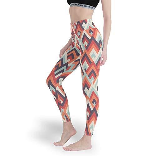 Mädchen Gedruckt Leggings Papular Yoga Hosen Spaß Capris Tights für Pilates Gym White s