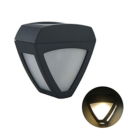 ガーデンランプ、SIMPLE DO 防犯ライト LED電球色 夜間自動点灯 装飾用 太陽発電 省エネ 屋外ソーラー センサー ランプ UFOライト