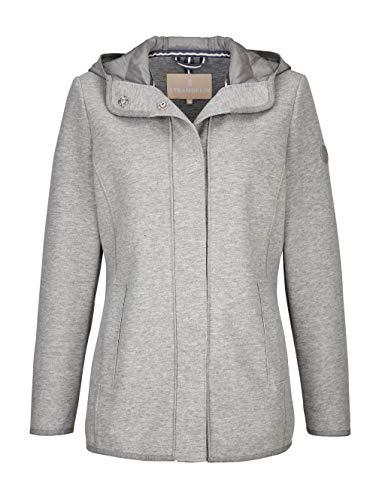 Alba Moda Jacke mit Kapuze Grau