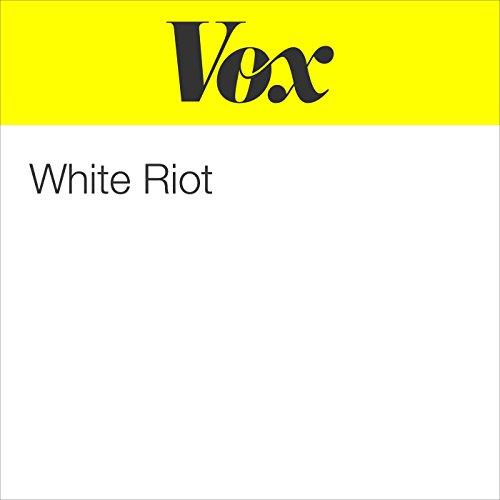 White Riot audiobook cover art