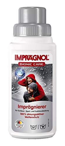 IMPRÄGNOL Bionic Care nettoyant imperméabilisant: Protection & Soin pour vêtements de sport ou d'extérieur (sans PFC)