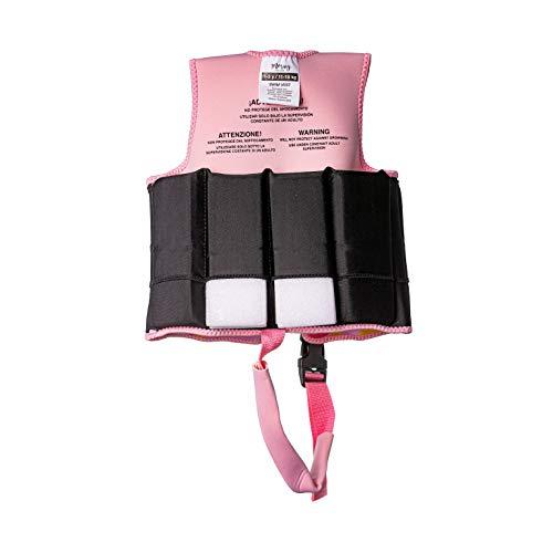 MORAIG - Chaleco Flotador de Ayuda a la flotabilidad Aprendizaje de la natación, Ideal para niños de 11 a 18 kg.(Arcoiris Moraig)