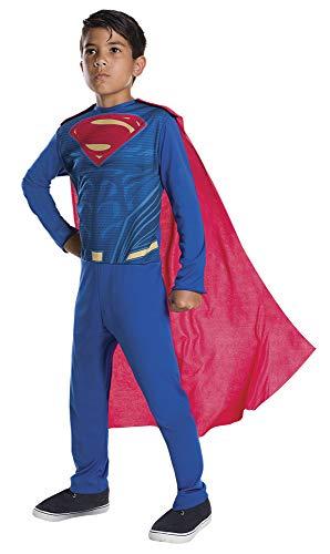 DC Comics - Disfraz de SupermanJustice League para niño, infantil 5-6 años (Rubie's 640308-M)