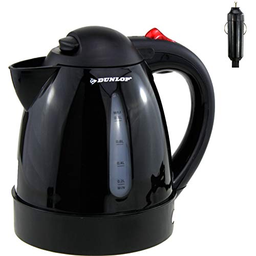 Smartweb 12V Auto LKW Wasserkocher Teekocher Kaffeekocher Campingkocher Wohnmobil Camping