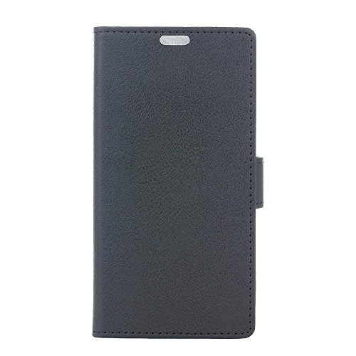 Funda Samsung Galaxy J5 Pro J530 ,Bookstyle PU Cuero cartera para TPU Silicone Case Cover -Negro