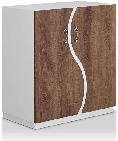 Bowery Selling and selling Hill Contemporary Credence Wood White in Cabinet Shoe