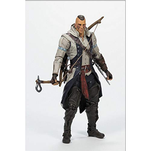 huanghuang Assassins Creed Connor Take Off Acción PVC Figura