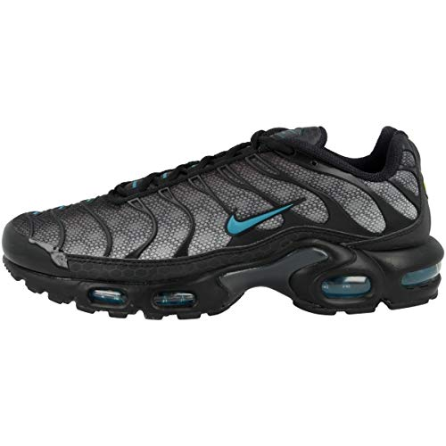 Nike Zapatillas para hombre Low Air Max Plus, color Negro, talla 42.5 EU